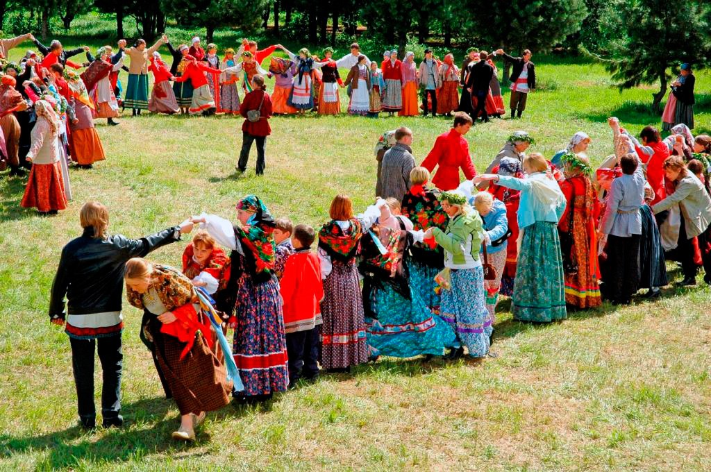 Фольклорные праздники для взрослых
